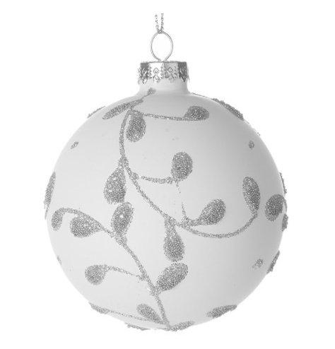 A Winter Wonderland Inspired White Bauble