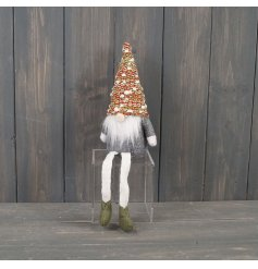 A Woodland Themed Santa Gnome