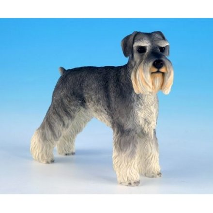 Schnauzer Dog Figurine