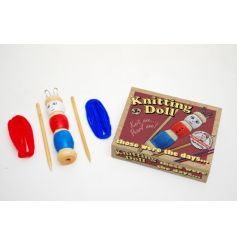 Traditional French knitting doll set