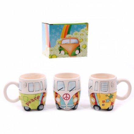 New Camper Van design mug. Made from ceramics, finished in a high gloss glaze.