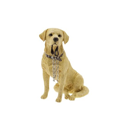 Labrador Golden Sitting Walkies (Small/Medium)
